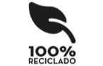 100reciclado logo